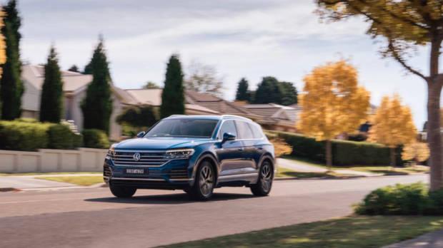 Volkswagen Touareg 2019 Reef Blue front