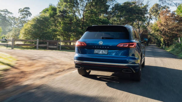 Volkswagen Touareg 2019 Reef Blue rear