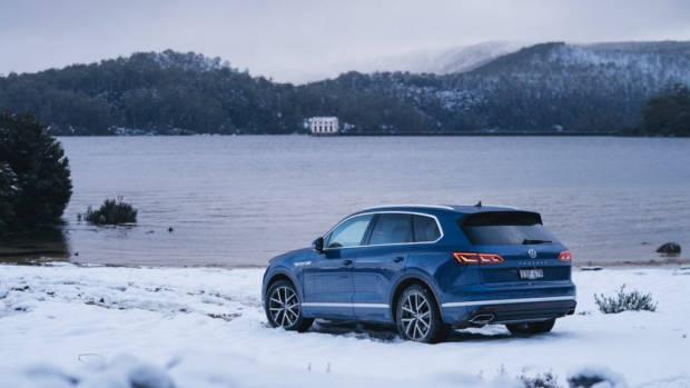 Volkswagen Touareg 2019 Reef Blue rear