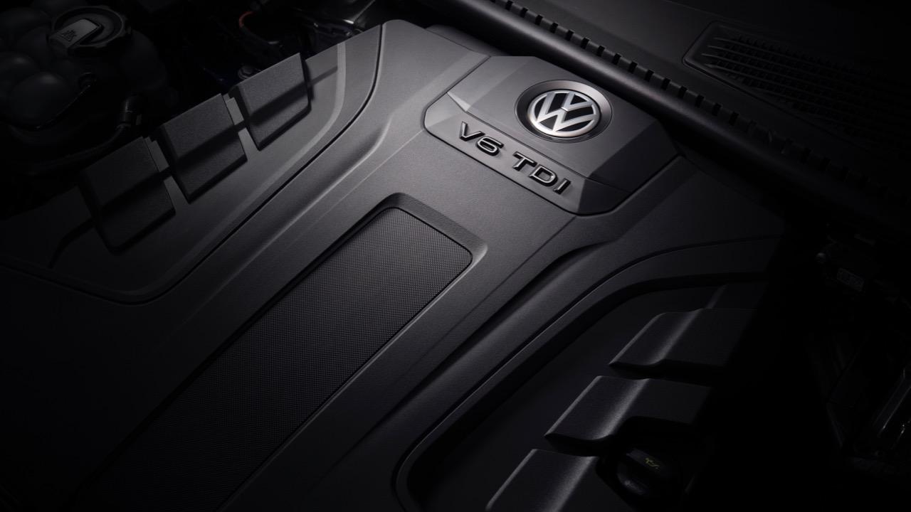 Volkswagen Touareg 2019 V6 TDI engine