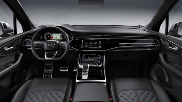 2020 Audi SQ7 TDI interior quilted seat