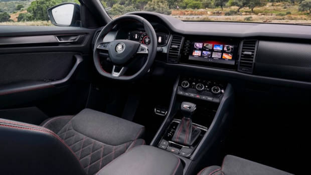 2019 ŠKODA KODIAQ RS interior