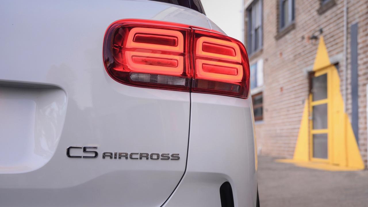 Citroen C5 Aircross review badge