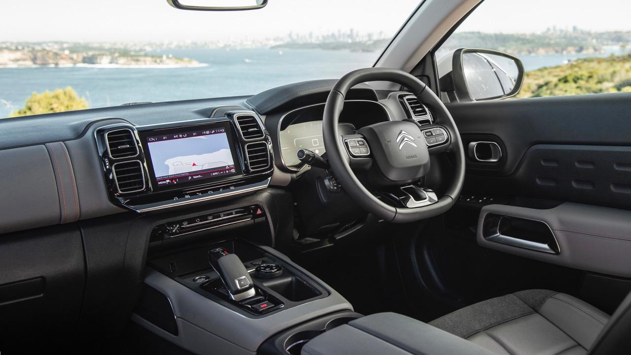 Citroen C5 Aircross review interior
