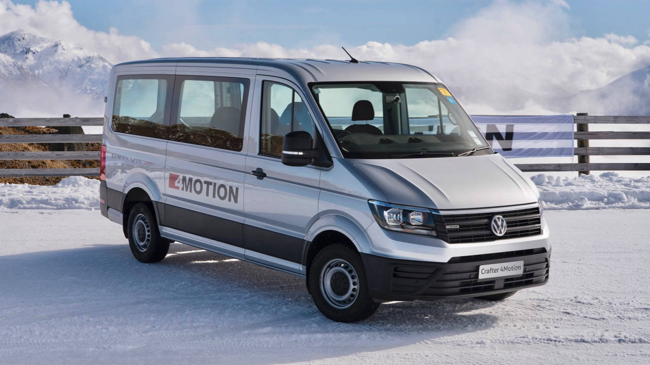 2019 Volkswagen Crafter 4MOTION silver ice