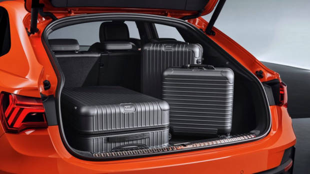 2020 Audi Q3 Sportback boot space