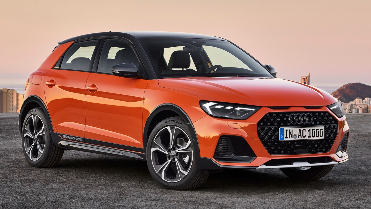 Audi A1 citycarver front end orange