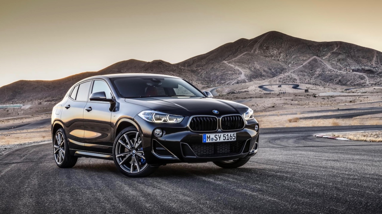 BMW X2 M35i 2019 black front
