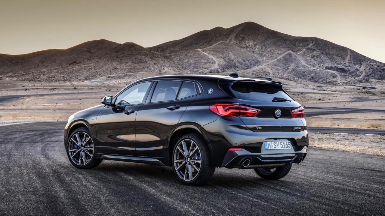 BMW X2 M35i 2019 black rear