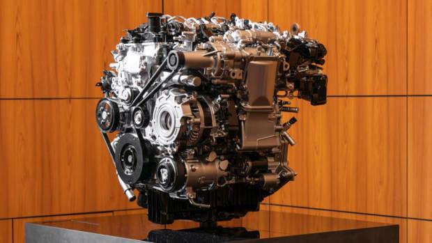Mazda 3 Skyactiv-X 2020 engine