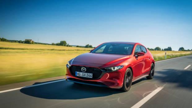 Mazda 3 Skyactiv-X 2020 front