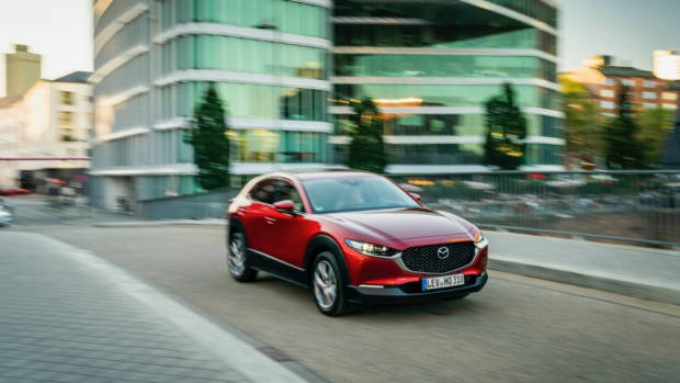 Mazda CX-30 front end