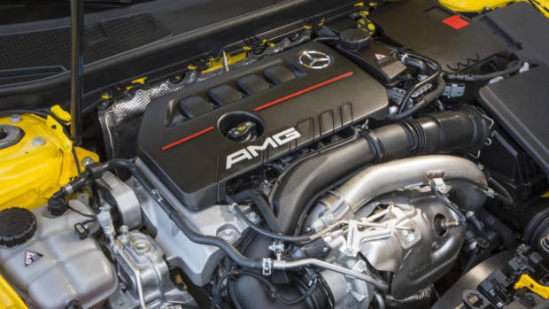 2019 Mercedes-AMG A35 engine