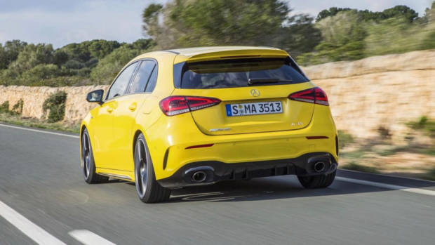 2019 Mercedes-AMG A35 yellow
