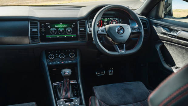 2019 Skoda Kodiaq RS review interior