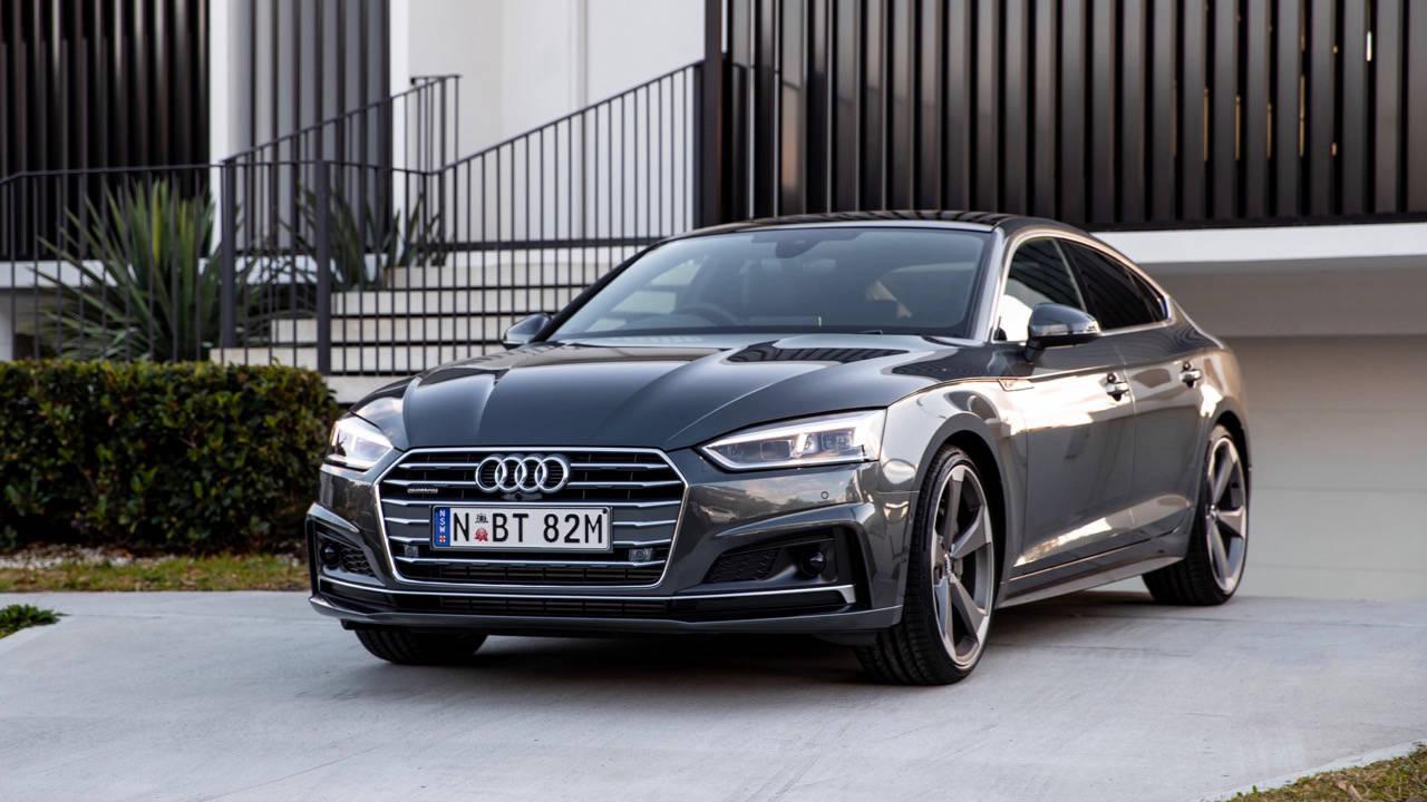 2020 Audi A5 Sportback 45 TFSI grey front