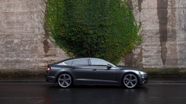 2020 Audi A5 Sportback 45 TFSI grey profile