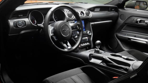 2020 Ford Mustang Turbo High Performance interior