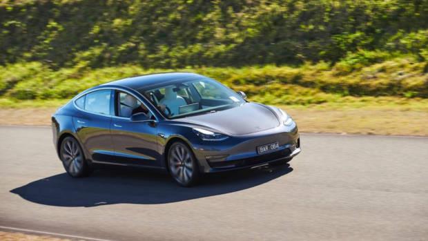 Tesla Model 3 Australia grey review