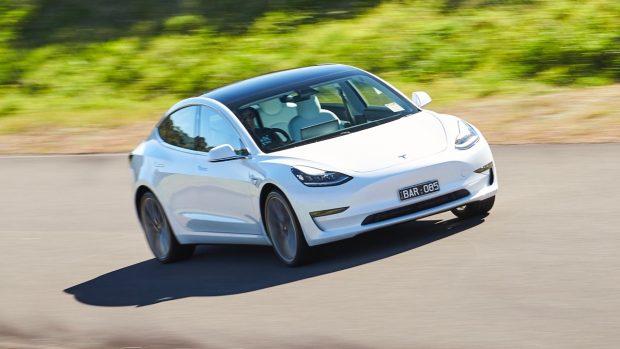 Tesla Model 3 Australia white review