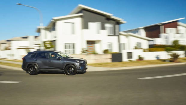Toyota RAV4 Hybrid long term review grey
