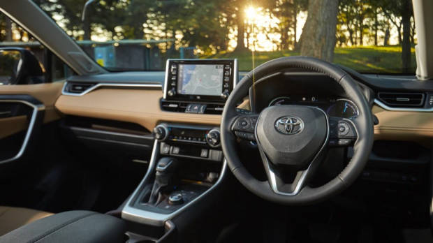 Toyota RAV4 Hybrid long term review nutmeg leather