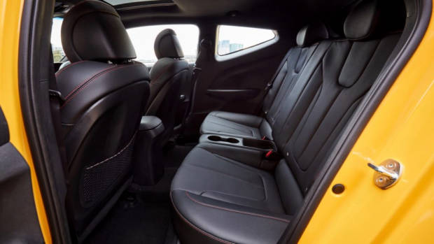 Hyundai Veloster review 2020 back seat