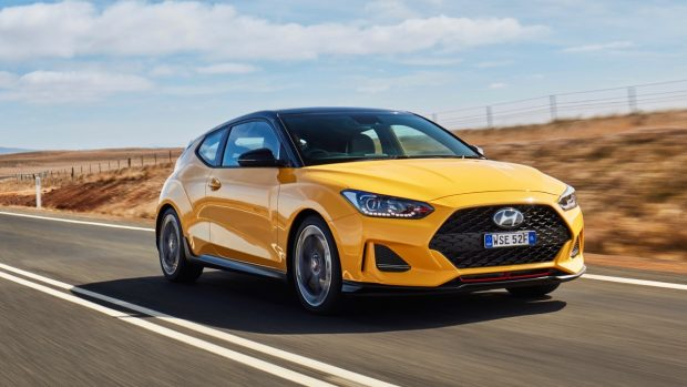 Hyundai Veloster review 2020 yellow front