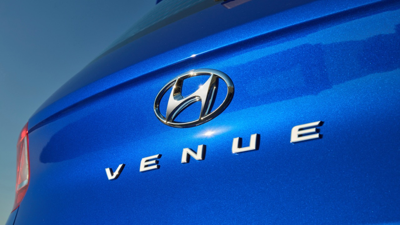 Hyundai Venue review 2020 badge