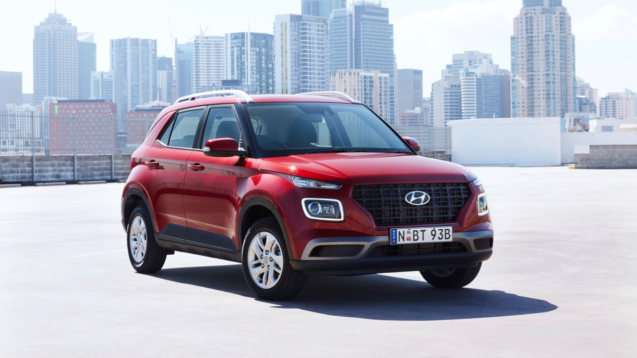 Hyundai Venue review 2020 red front
