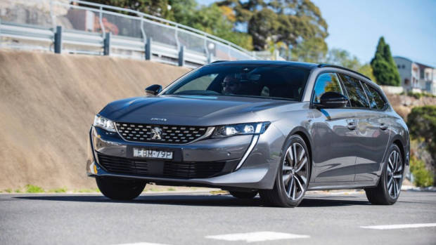 Peugeot 508 review SW grey 2019