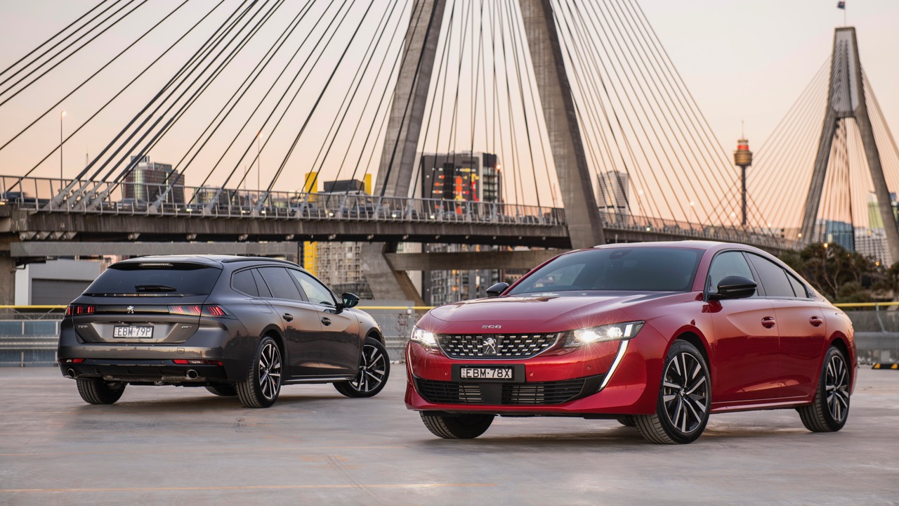 Peugeot 508 review red grey 2019