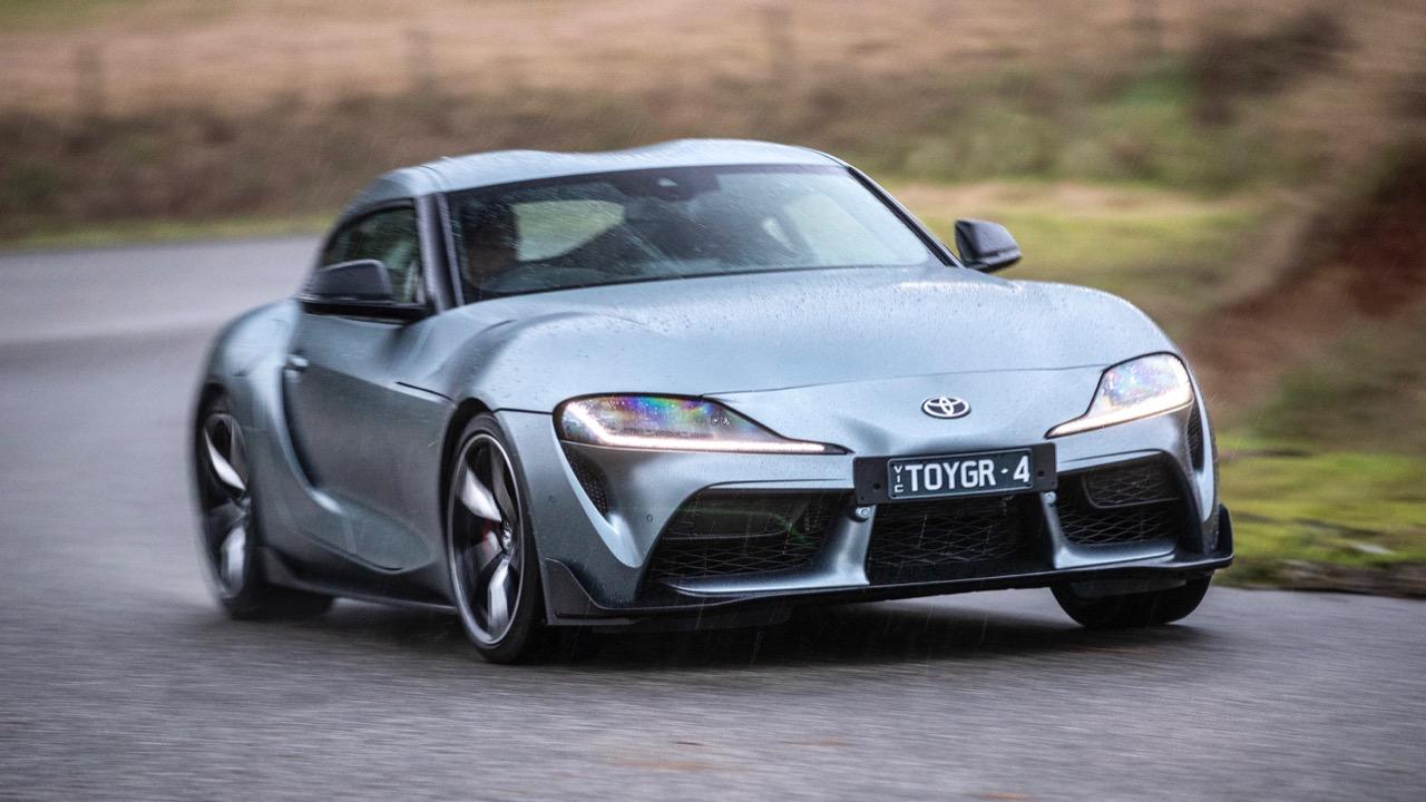 Toyota Supra 2019 Nurburg grey
