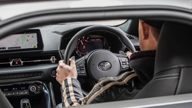 Toyota Supra 2019 interior