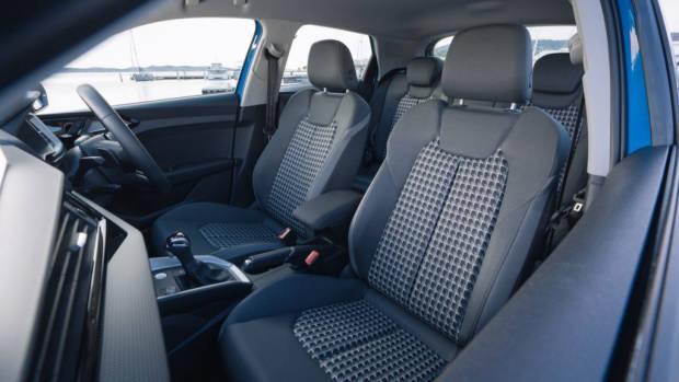 2020 Audi A1 review cloth seats