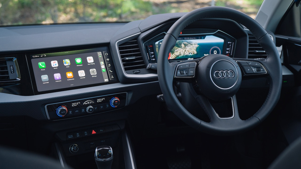 2020 Audi A1 review interior tech
