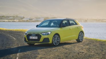 2020 Audi A1 review yellow front