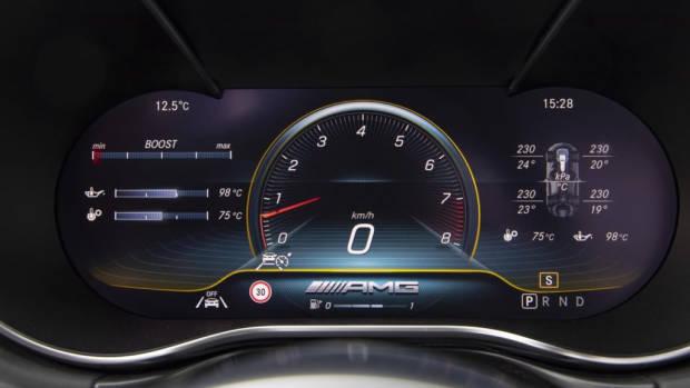 2020 Mercedes-AMG GT Interior 2