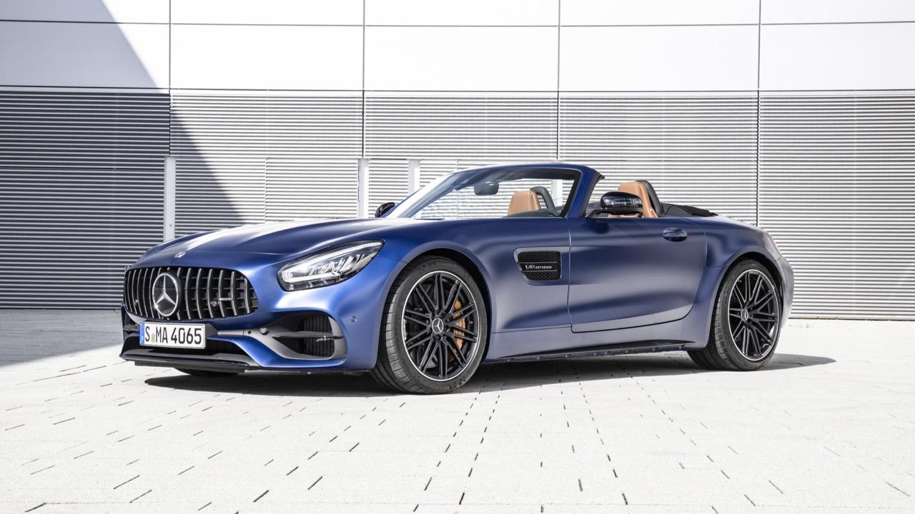 2020 Mercedes-AMG GT C Blue