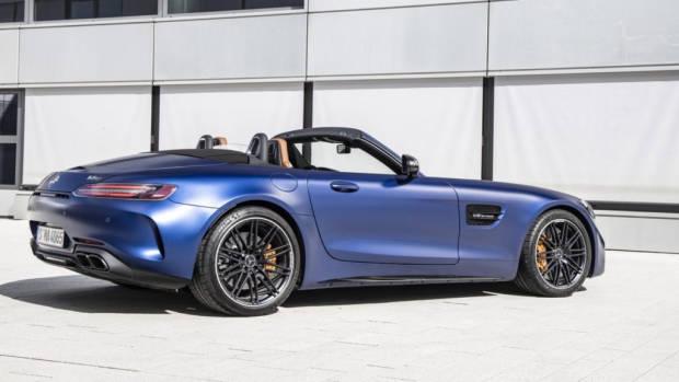 2020 Mercedes-AMG GT C Blue 2