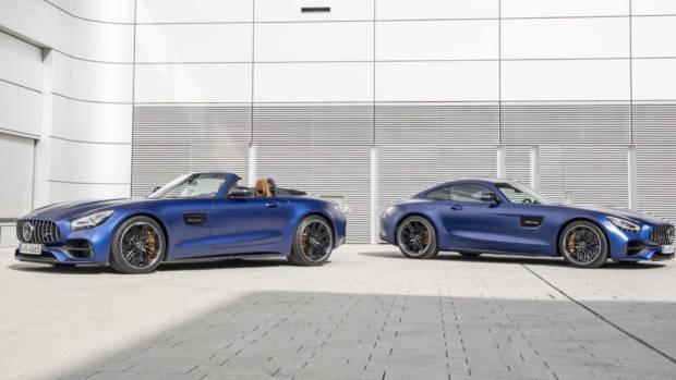 2020 Mercedes-AMG GT C Blue 3
