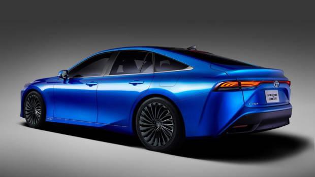 2020 Toyota Mirai - Rear