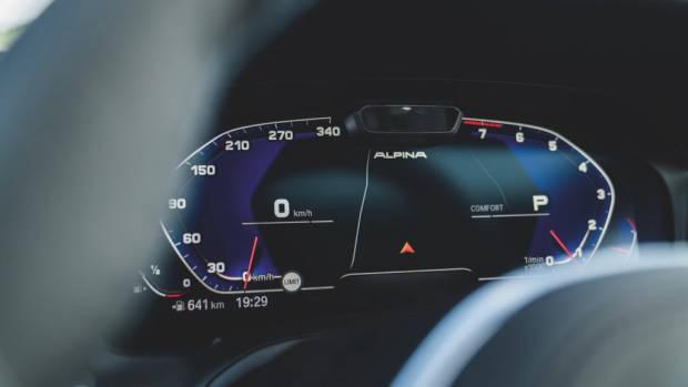 Alpina B3 2020 gauges