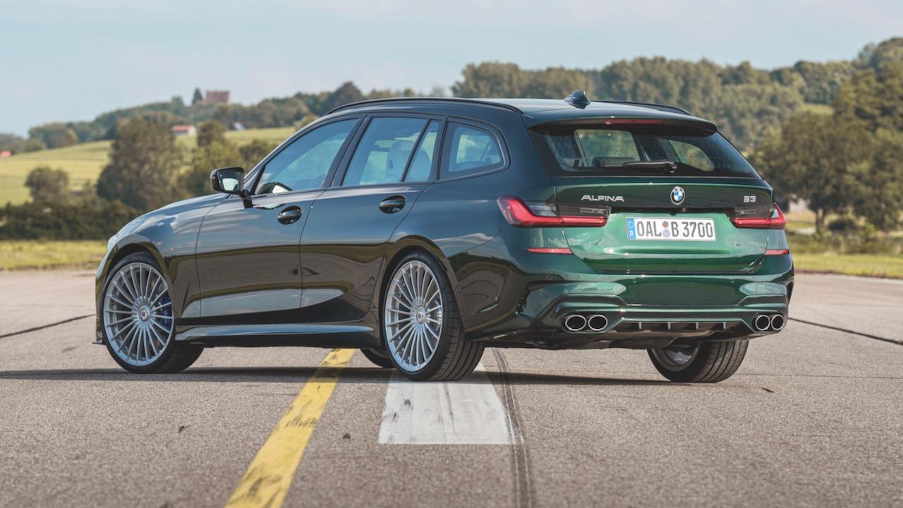 Alpina B3 2020 review green rear