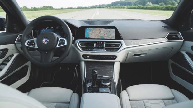 Alpina B3 2020 review interior