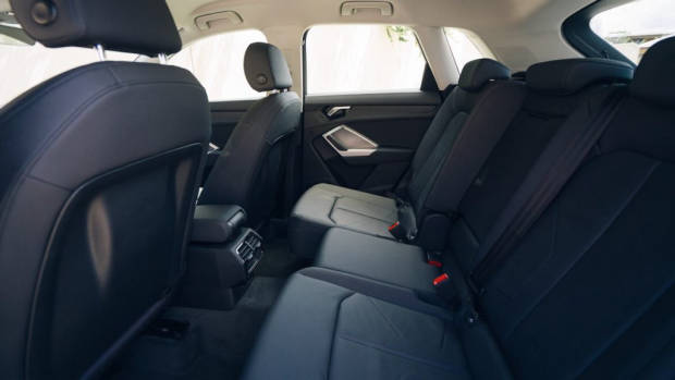 Audi Q3 review 2020 back seat