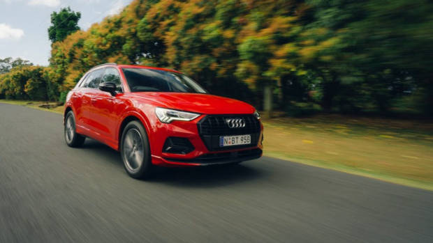 Audi Q3 review 2020 red