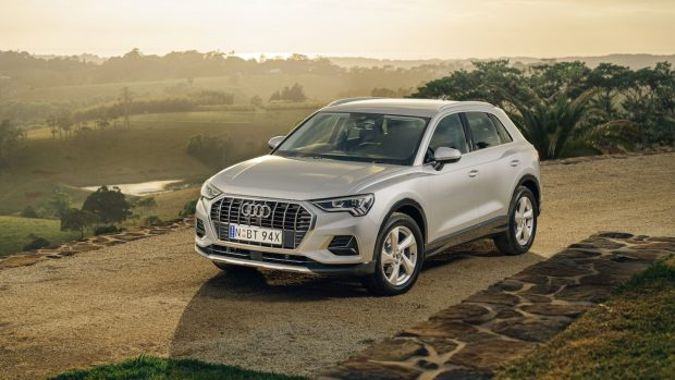 Audi Q3 review 2020 silver