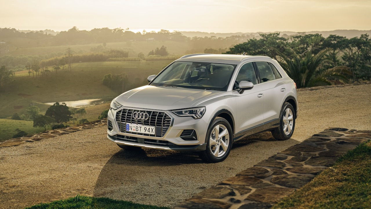 Audi Q3 review 2020 silver