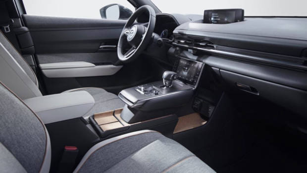 Mazda MX30 review reveal interior
